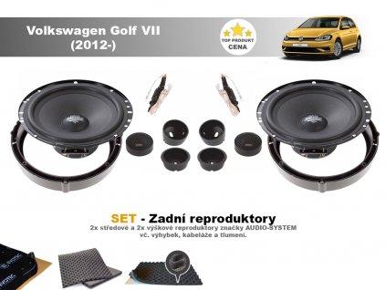 Volkswagen Golf VII MX zadni