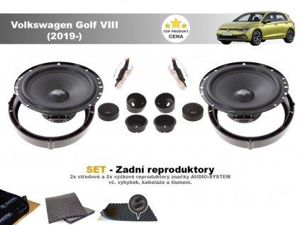 Volkswagen Golf VIII MX zadni