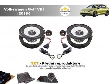 Volkswagen Golf VIII M predni