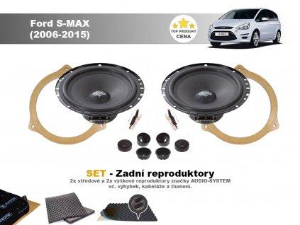 ford S max 06 MX zadni