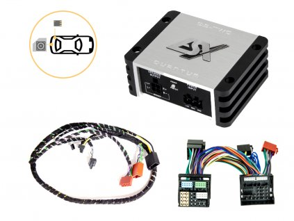 Zesilovač pro jednoduché připojení subwooferu - ESX QS-TWO