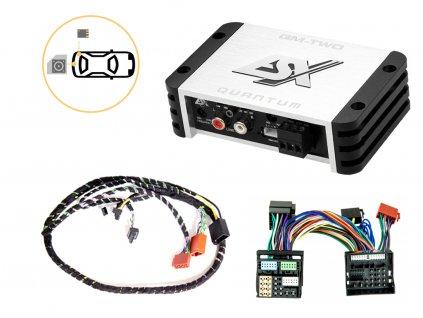 Zesilovač pro jednoduché připojení subwooferu - ESX QM-TWO