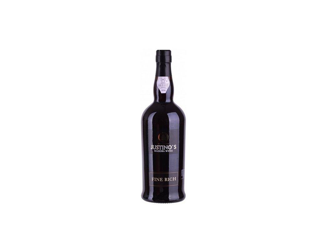 Justino's Madeira Fine Rich 3 Y.O. 0,75 l