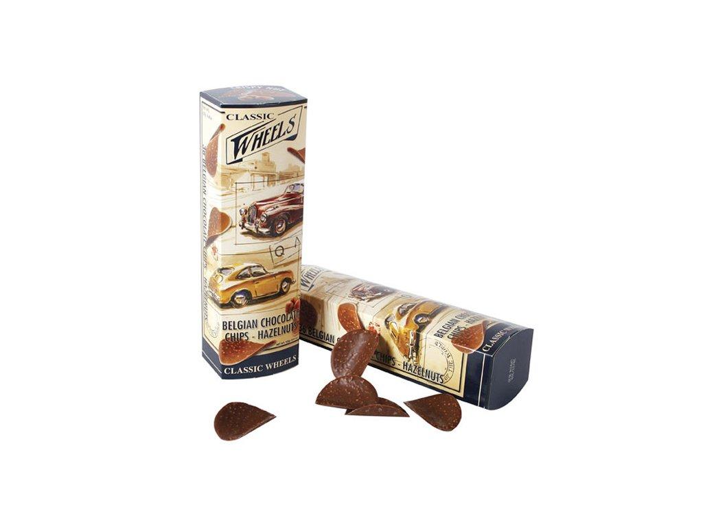 Starbrook Cars čokoládové chipsy s oříšky 125 g