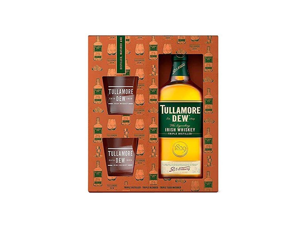 Tullamore Dew 0,7 l + sklenky