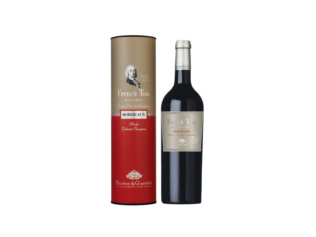 French Tom Reserve Bordeaux 0,75 l