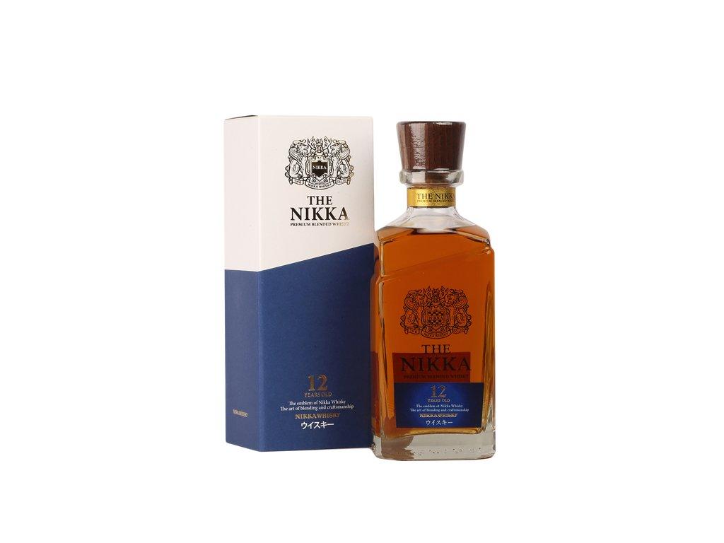 The Nikka 12 Y.O. Premium blended whisky 0,7 l