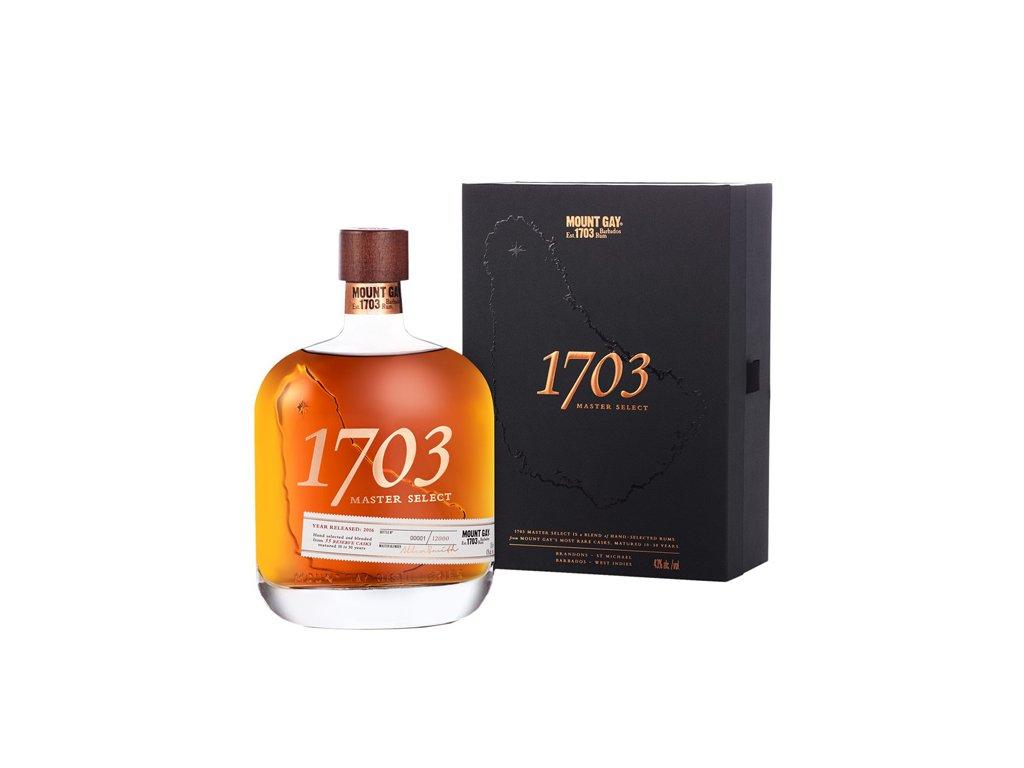 Mount Gay 1703 Master Select 0,7 l