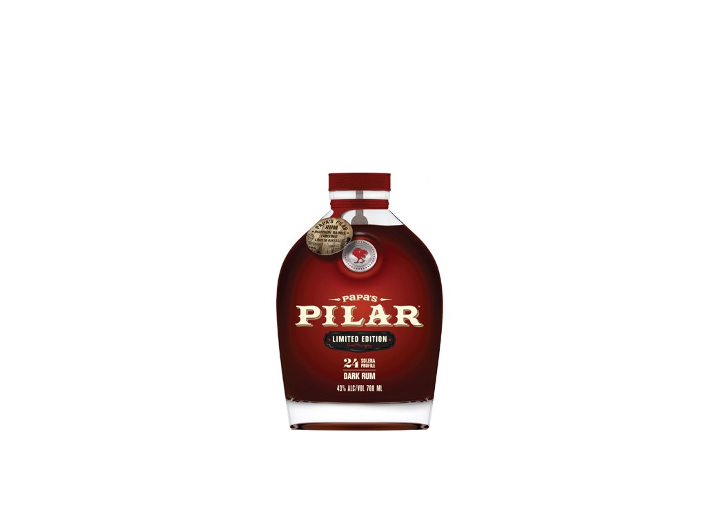 Papa's Pilar Dark Bourbon Barrel Finished 0,7 l