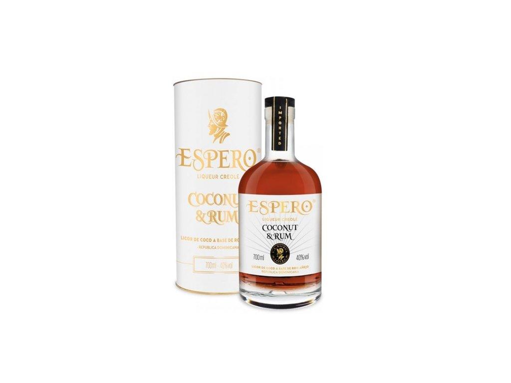 Espero Rum & Coco Dark 0,7 l