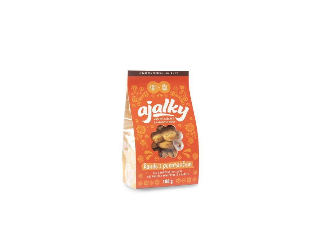 Ajalky - Rande s pomerančem 100 g