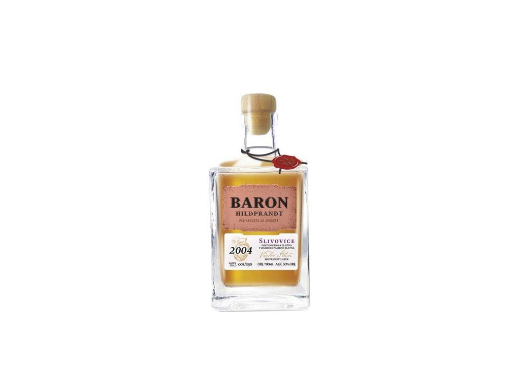 Baron Hildprandt slivovice 2004 limitovaná edice 0,7 l