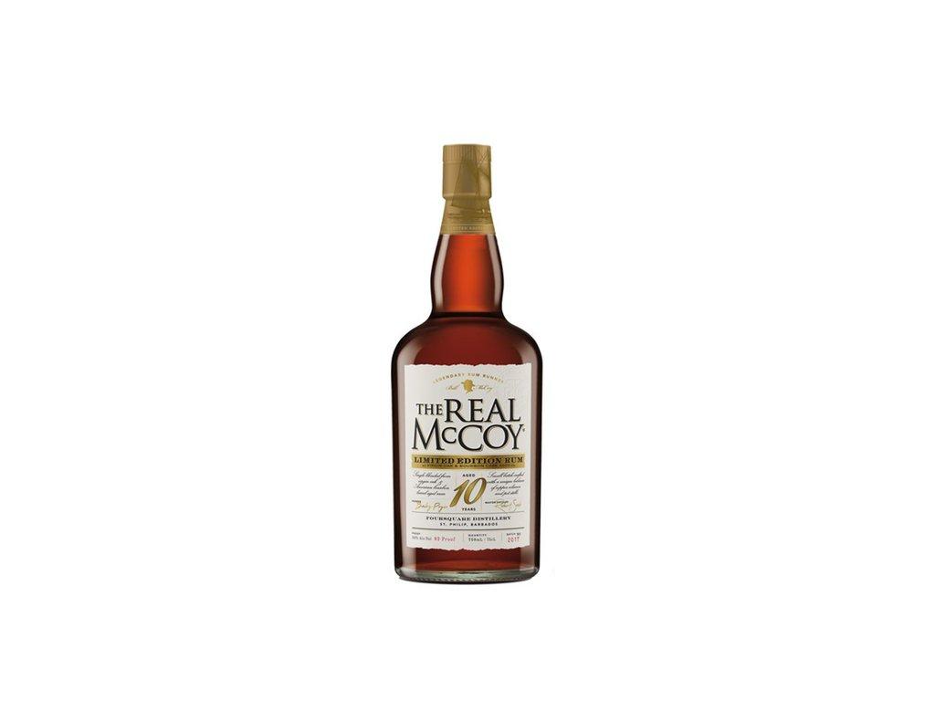 The Real McCoy 10 Y.O. L.E. 46% 0,7 l