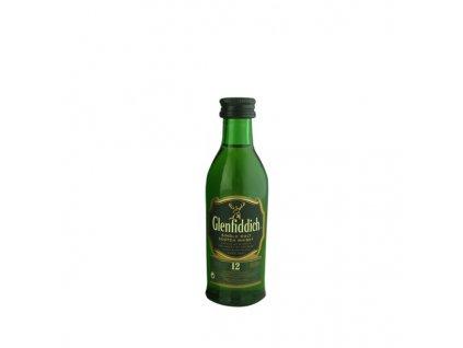 Glenfiddich 12 Y.O. 0,05 l