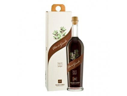 Marzadro grappa s olivovým olejem 0,5 l