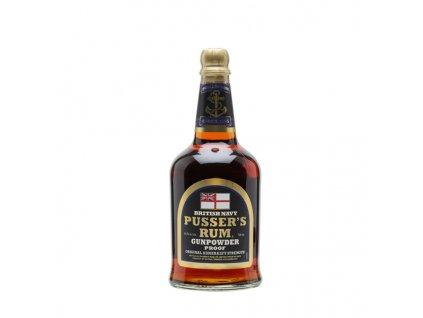Pusser´s British Navy Gunpowder 54,5% 0,7 l