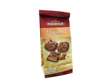 Pischinger - oplatky s mléčnou čokoládou a mandlemi 200 g