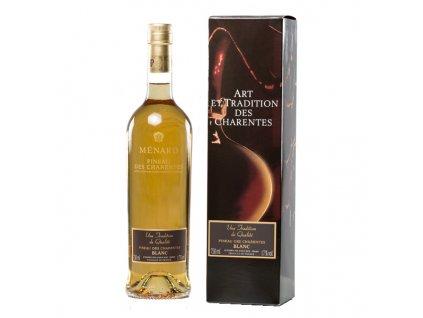 Ménard Pineau des Charentes Blanc Grande Champagne 0,75 l