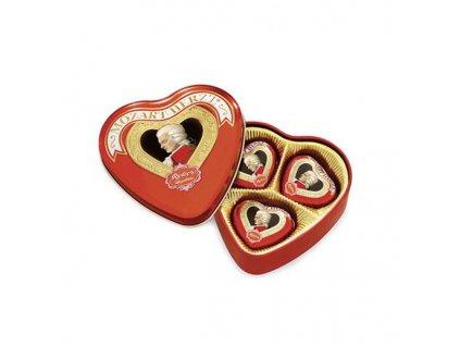 Mozart - plechové srdce 60 g
