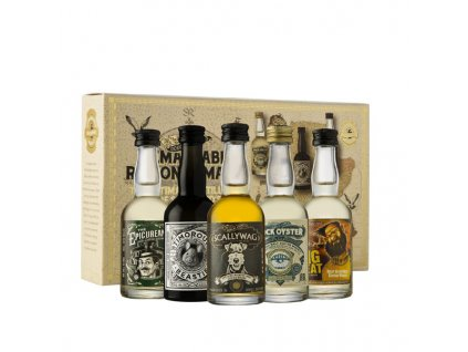 Remarkable Regional Malts Blended Scotch Whisky 5x0,05 l