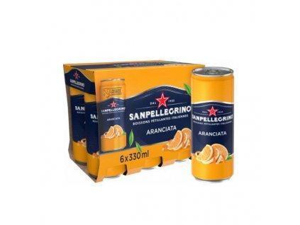 Sanpellegrino Aranciata 6x330 ml