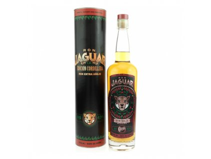 Ron Jaguar Edicion Cordillera Extra Anejo 0,7 l