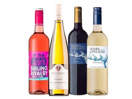Degustace - kanadská vína 20.10. 2021
