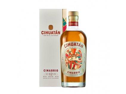 Cihuatán Cinabrio 12 Y.O. 0,7 l