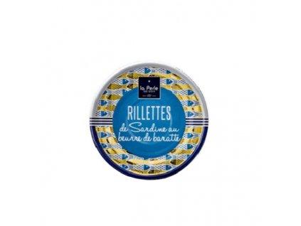 La Perle rillety ze sardinek na pravém másle 80 g