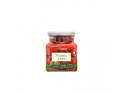Ortomio cherry papričky plněné krémem z tuňáka 280 g
