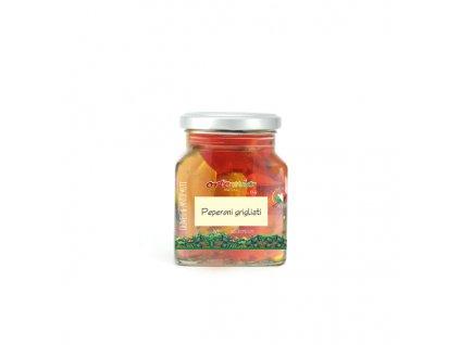 Ortomio grilované červené a žluté papričky 280 g