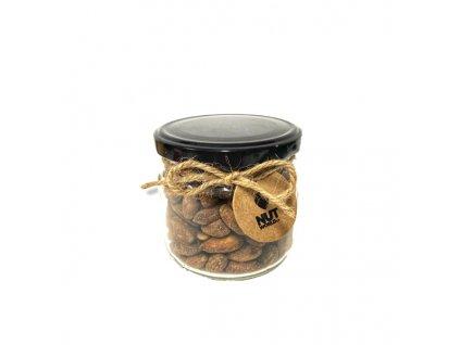 Ořechy Deluxe ve skle - uzené mandle 200 g