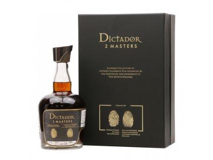 Dictador 2 Masters Glenfarclas 45 Y.O. 1972 0,7 l