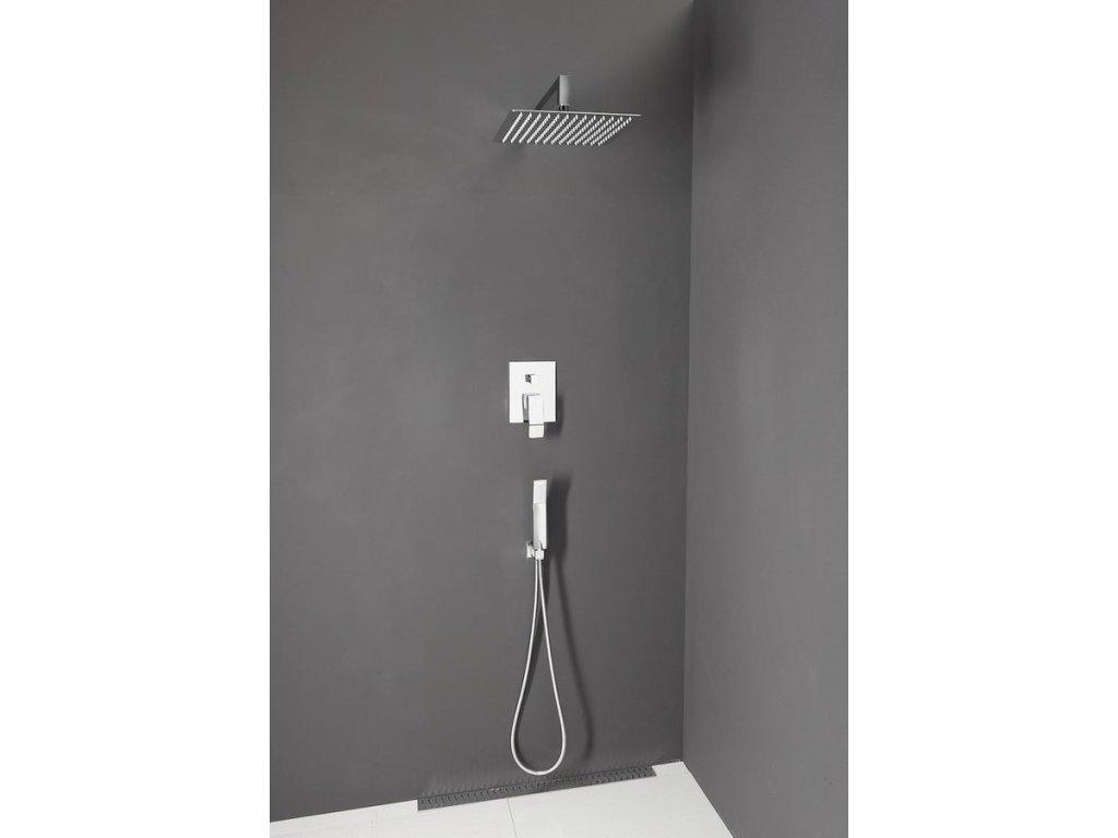 Sprchový set GINKO s ruční sprchou a sprchovou hlavou