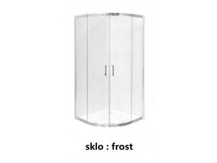 ctvrtkruhovy sprchovy kout modern 165