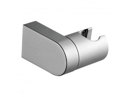 Držák sprchy, otočný, chrom