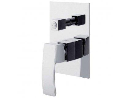 Podomítková sprchová baterie s keramickým přepínačem GINKO - dvoucestná