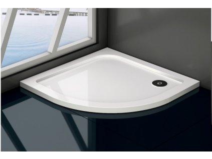 Čtvrtkruhový sprchový kout GIGI SMART 90, , varianta skla Čiré nebo Grape