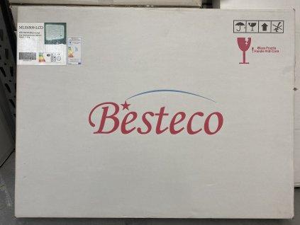 Koupelnové zrcadlo BRIGHT BLUETOOTH 90x65 cm s osvětlením LED, časem, datumem a teplotou