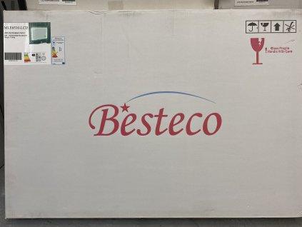 Koupelnové zrcadlo 100x65 cm s LED osvětlením, časem, datumem,teplotou a funkcí BLUETOOTH
