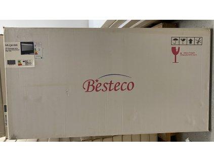 LED zrcadlo do koupelny RICI s nastavitelným horním osvětlením 120x60 cm