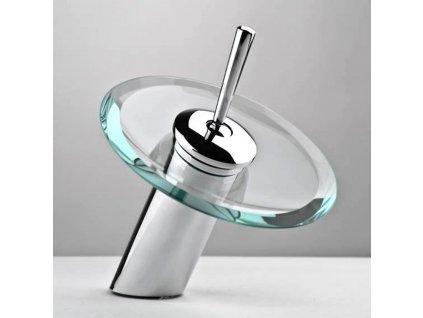 umyvadlová baterie CASCADA s efektem přírodního vodopádu