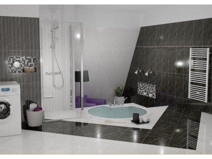 listela ABSOLUTE MODERN skirting board white 30x12