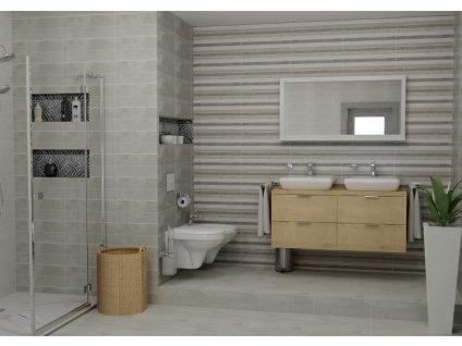 obklad CONCRETE blanco 50x20