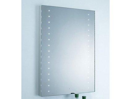 Besteco LED zrcadlo 60x80 cm(80x60 cm) LED s vypínačem na senzor pohybu FLY TL1213