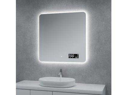 Koupelnové zrcadlo Besteco Bright Light 80 cm