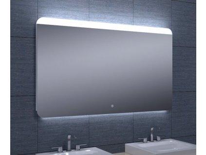 Koupelnové zrcadlo Besteco GURU 120x70 cm s horním a LED podsvícení