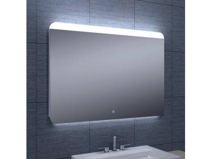 Koupelnové zrcadlo Besteco GURU 100x70cm s horním a spodním osvětlením 1243681B