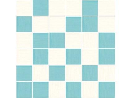 mozaika MARTA CIELO 30x30/4,8x4,8 cm, lesk