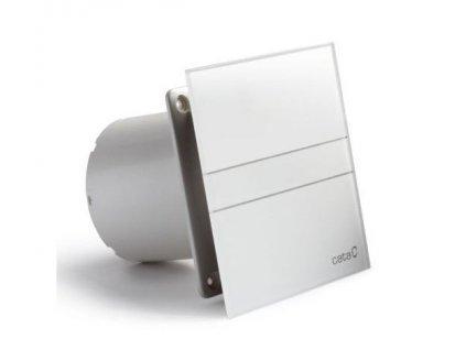 axialni ventilatory na zed ci do stropu e100 gt s casovacem sklo bile